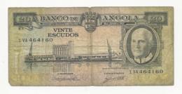 Portuguese Angola 20 Escudos 1962 - Portugal