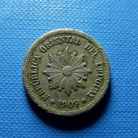 Uruguay 2 Centesimos 1909 - Uruguay