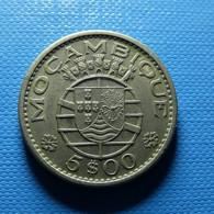Portuguese Moçambique 5 Escudos 1971 - Portugal