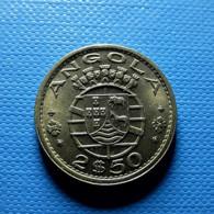 Portuguese Angola 2 1/2 Escudos 1968 - Portugal