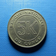 Congo 5 Makuta 1967 - Congo (Democratic Republic 1964-70)
