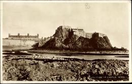 CPA Jersey Kanalinseln, Elizabeth Castle, Exterior View, Coast - Otros