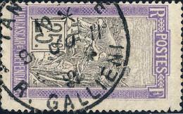 "MADAGASCAR - 1925 - Cachet AUTOPLAN DE "" TANANARIVE / R.GALLIENI "" Sur Yv.134 - Used Stamps"