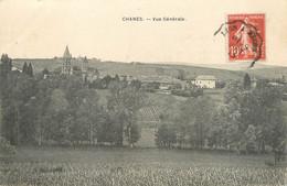 "/ CPA FRANCE 71 ""Chanes, Vue Générale"" - Other Municipalities"