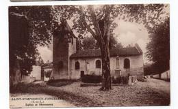 71 - SAINT SYMPHORIEN D'ANCELLES - Eglise Et Monument   (Q72) - Altri Comuni