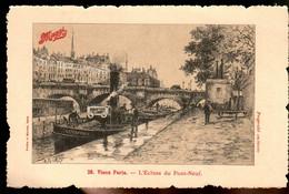 31ksr 1232 CPA - VIEUX PARIS - L'ECLUSE DU PONT NEUF - Bruggen