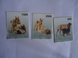 TURKMENISTAN USED STAMPS  ANIMALS   DOGS   DOG - Turkmenistan