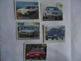 TURKMENISTAN USED STAMPS  CAR CARS - Turkmenistan