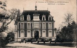 Environs De St Saint-Pierre-sur-Dives (Calvados) Hièville, Le Château - Edition Landais, Buraliste - Carte N° 10 - Other Municipalities