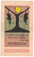 WW2 Germany Propaganda FORGERY Overprint On Genuine 20,000 Mark 1923 Banknote VF+ - Other