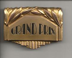 """Plaque  """" GRAND PRIX """" - Professionals / Firms"""