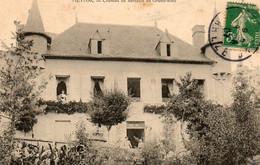 19. CPA - MEYMAC - Chateau De Sarrazin De Grand-Rieu - 1907 - Scan Du Verso - - Otros Municipios