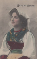 ROMA-COSTUMI ROMANI-CARTOLINA VERA FOTOGRAFIA-NON VIAGGIATA -ANNO 1900-1904-NPG - Other