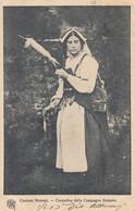 ROMA-COSTUMI ROMANI-CONTADINA DELLA CAMPAGNA ROMANA-CARTOLINA VIAGGIATA IL 5-6-1903 - Other