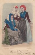 IGLESIAS-COSTUME TIPICO-CARTOLINA  VIAGGIATA  IL 7-8-1901 - Iglesias