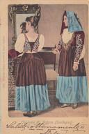 ARDARA-SASSARI-COSTUME TIPICO-CARTOLINA  VIAGGIATA  IL 18-7-1903 - Sassari