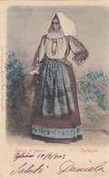 BONORVA-SASSARI-COSTUME TIPICO-CARTOLINA  VIAGGIATA  IL 20-9-1903 - Sassari