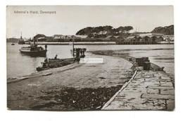 Devonport, Plymouth - Admiral's Hard, Slipway, Boats - Old Devon Postcard - Plymouth