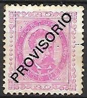 PORTUGAL    -    1892.   Y&T N° 83 (*) - Unused Stamps