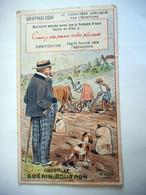 CHROMO CHOCOLAT GUERIN BOUTRON GRAPHOLOGIE - Guerin Boutron