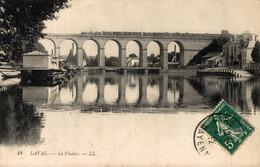 N°8811 Z -cpa Laval -le Viaduc Avec Train- - Structures