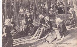 29 -- La Guipure D'Irlande à Plouhinec -- Les Motiveuses --- 3471 - Plouhinec