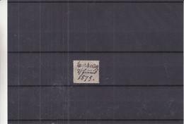Allemagne - Empire - Yvert 26 Oblitéré - Annulation Plume - Valeur 200 Euros - Used Stamps