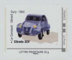FRANCE Citroën 2cv. Film Le Corniaud De Gérard Oury Avec Louis De Funes Neuf**. - Autos