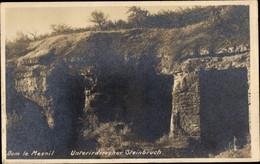 CPA Dom Le Mesnil Ardennes, Unterirdischer Steinbruch - Other Municipalities