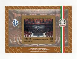 ITALIA - 2018 - Foglietto 100 Anni Aula Di Palazzo Montecitorio - Autoadesivo - Nuovo ** - (FDC29191) - Blocks & Sheetlets