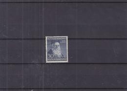 Allemagne - République Fédérale - Yvert 45 Oblitéré - Croix Rouge - Henri Dunant - Valeur 100 Euros - Ongebruikt