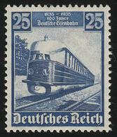 582 Deutsche Eisenbahn 25 Pf - Der Fliegende Hamburger, Postfrisch ** - Sin Clasificación