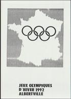France Postcard 1992 Albertville Olympic Games - Mint (G128-47) - Inverno1992: Albertville
