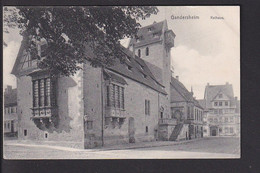 D35 /   Gandersheim Rathaus 1908 - Unclassified