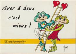 France Postcard 1992 Albertville Olympic Games  - Mint (G128-46) - Inverno1992: Albertville