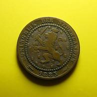 Netherlands 1 Cent 1883 - 1849-1890 : Willem III