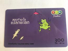 10:166 - Thailand Prepaid Frog - Thailand