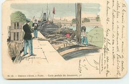 Service Décor à Paris N°13 - Carte Postale Du Douanier - Douane - H. Jouard - Péniche - Zoll