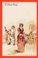 SAM060 ⭐ LE VIEUX PARIS Exposition Universelle De 1900 Chez Le ROTISSEUR Par ROBIDA Illustrateur - Tentoonstellingen