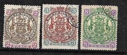 Afrique Du Sud Compagnie Britannique N°  30 ; 31 Et 34 Oblitérés   B/TB  Soldé   Le Moins Cher Du Site  ! ! ! - Transvaal (1870-1909)