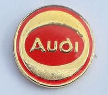 V359 Pin's AUDI LOGO ROND Diamètre 20 Mm Achat Immédiat - Audi