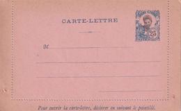 INDOCHINE    ENTIER POSTAL/GANZSACHE/POSTAL STATIONARY   CARTE-LETTRE - Brieven En Documenten