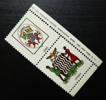 Poster Stamps Cinderella Vignette Togo Zambia Africa Coat Of Arms B31 - Erinnofilia