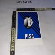 FB6855 ROMA PRATI 1986 TIMBRO TARGHETTA CAMPIONATO DI CALCIO '85/'86 INCONTRO ROMA PISA - 1981-90: Storia Postale