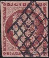 France    .   Y&T    .    6 (2 Scans)         .     O   .     Oblitéré    .     /   .   Cancelled - 1849-1850 Ceres
