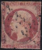 France    .   Y&T    .    18       .     O   .     Oblitéré    .     /   .   Cancelled - 1853-1860 Napoléon III