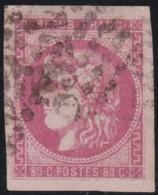 France    .   Y&T    .   49  (2 Scans)       .     O   .     Oblitéré    .     /   .   Cancelled - 1870 Uitgave Van Bordeaux