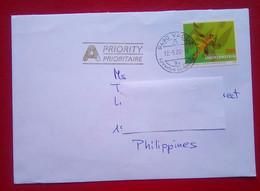 Cover From Liechtenstein To Philippines - Air Post