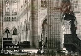 CPSM TREGUIER - La Cathédrale - Vue Intérieure  L436 - Tréguier