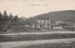 (DU 02) CORREZE ,CHEVILLON , La Gare - Autres Communes